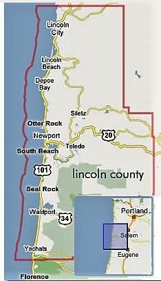 Central Oregon Coast Seal Rocks Rv Cove Full Service