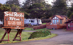 Seal Rocks RV Cove - Full Service, Year-Round RV Park, Seal Rock, Oregon